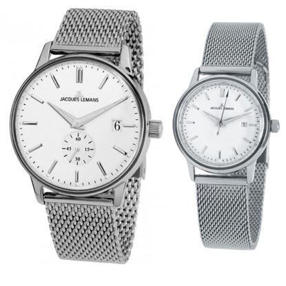 خرید آنلاین ساعت اورجینال ژاک لمن N-215F و N-216E