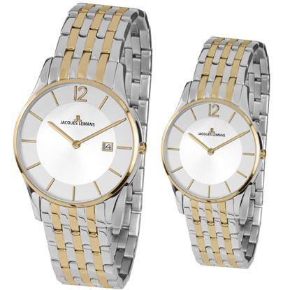 خرید آنلاین ساعت اورجینال ژاک لمن 1852G و 1853C