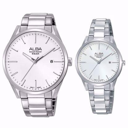 خرید آنلاین ساعت ست آلبا AS9G55X1 و AH7R45X1