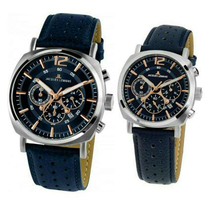 خرید آنلاین ساعت اورجینال ژاک لمن 1645I و 1931C