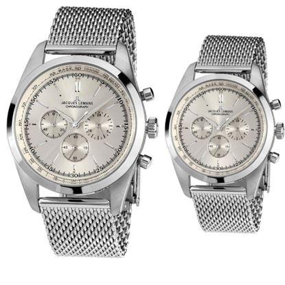 خرید آنلاین ساعت اورجینال ژاک لمن N-1561B & N-1560B