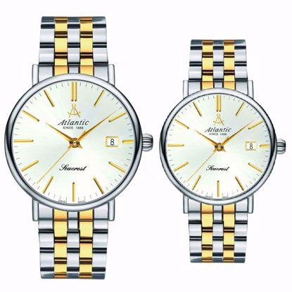 خرید آنلاین ساعت ست آتلانتیک AC-50359.43.21G و AC-10356.43.21G